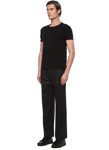 Alexander McQueen Pantolon Siyah